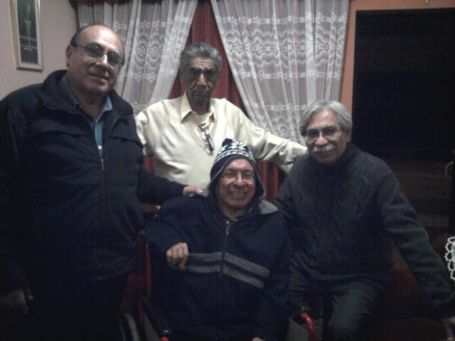 Erquinio, Gabriel Muro, and Moran