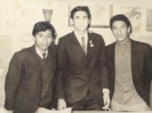 Julio Chojeda Torres, Gabriel Muro Rodríguez, Percy Rojas